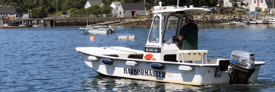 Harbormaster's Boat - Port Clyde, ME