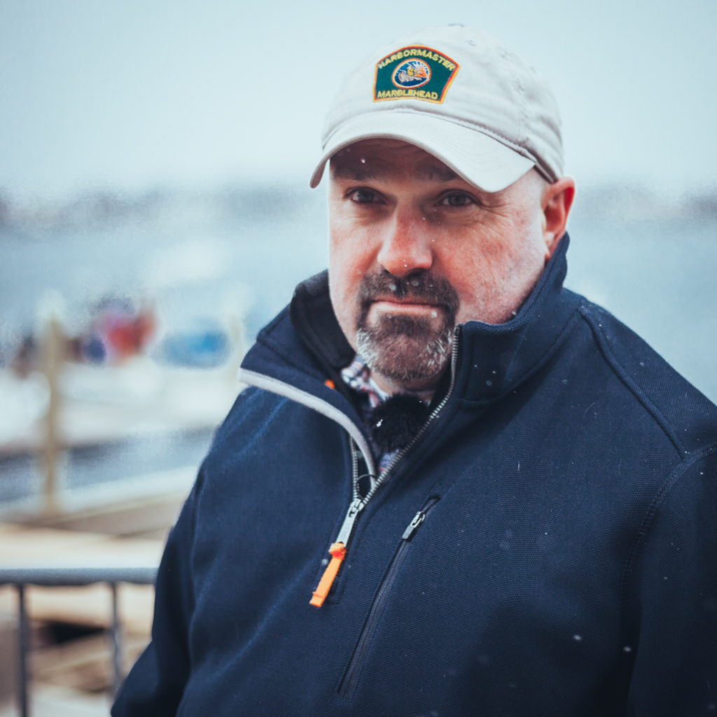 Harbormaster Mark Souza of Marblehead, MA