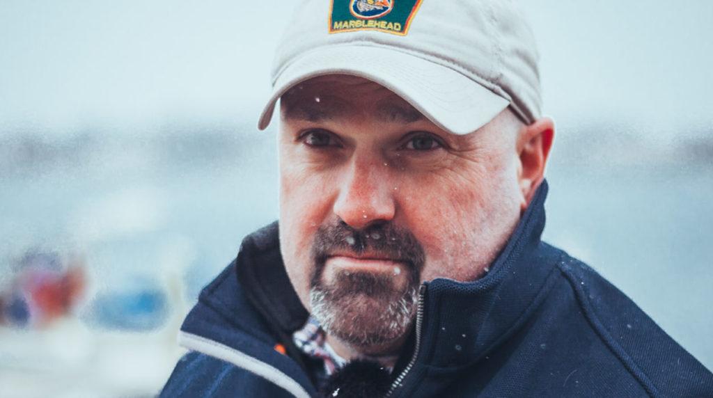 Mark Souza, Harbormaster in Marblehead, MA