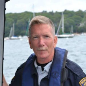 Kenneth Walberg, Harbormaster, Falmouth Maine